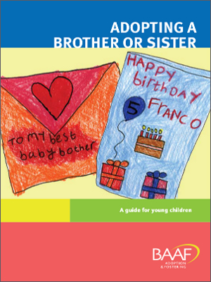 Adopting a Brother or Sister cover