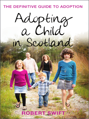 Adopting a child in Scotland cover
