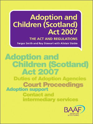 Adoption and Children Act Scotland cover