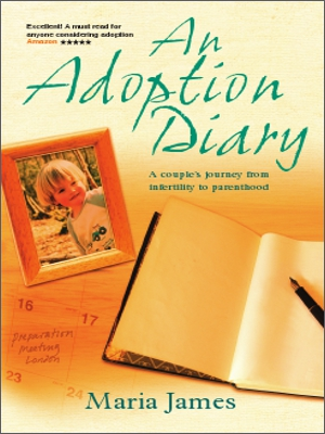 An adoption diary cover