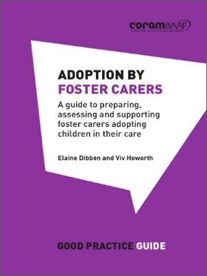 Adoption by foster carers cover