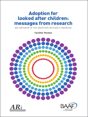 Adoption for looked after children cover