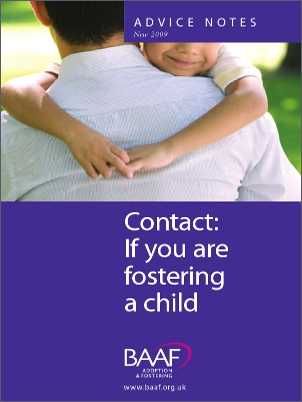 Contact if you are fostering a child cover
