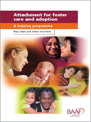 Attachment for foster care and adoption training programme cover