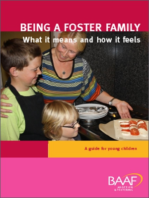 Being a foster family cover