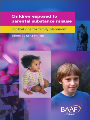 Children exposed to parental substance misuse cover
