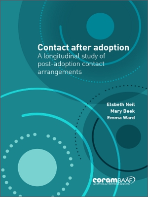 Contact after adoption cover