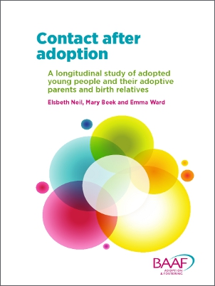 Contact after adoption summary cover