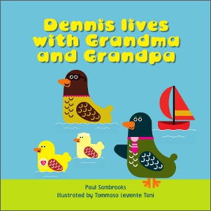 Dennis lives with Grandma and Grandpa cover