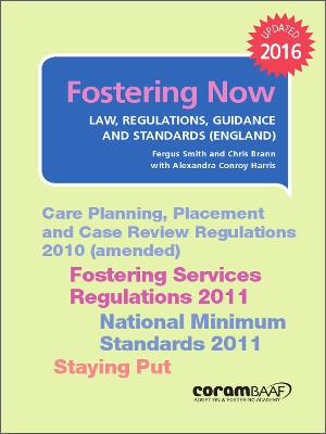 Fostering now cover