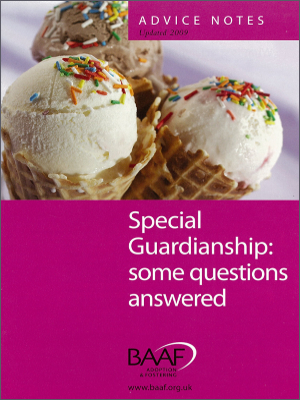 Special guardianship: some questions answered cover