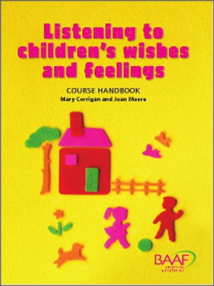 Listening to children's wishes and feelings handbook cover