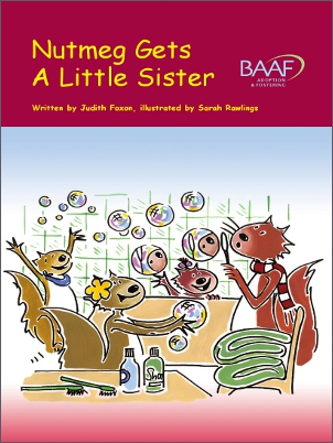 Nutmeg gets a little sister cover
