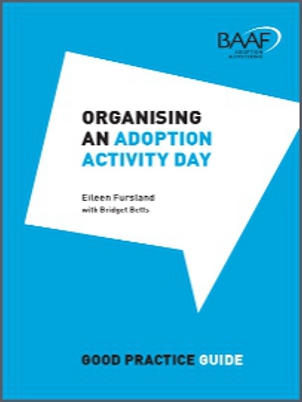 Organising an Adoption Activity Day cover