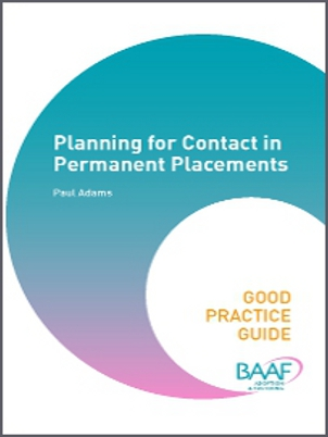 Planning for contact in permanent placements cover