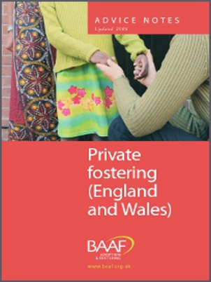 Private fostering cover