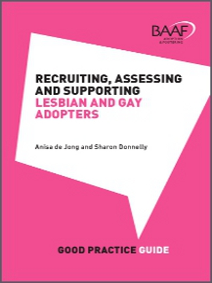 Recruiting, assessing and supporting lesbian and gay adopters cover