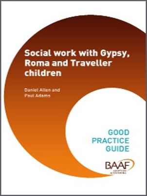 Social work with Gypsy, Roma and Traveller children cover
