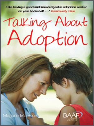 Talking about adoption cover