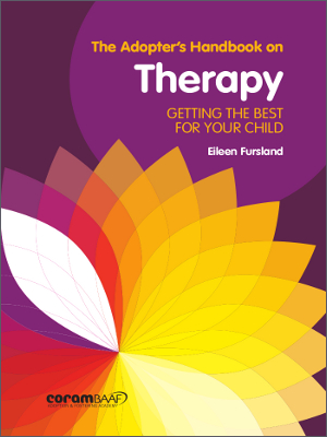 The adopter's handbook on therapy cover