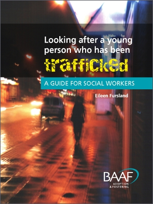 Looking after trafficked children cover