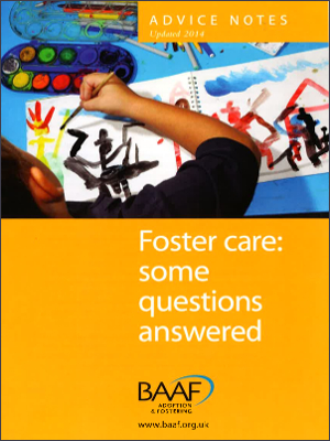 Foster care: some questions answered