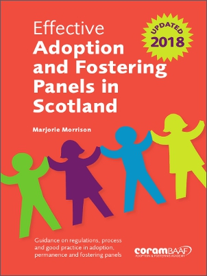 Effective adoption and fostering panels Scotland cover