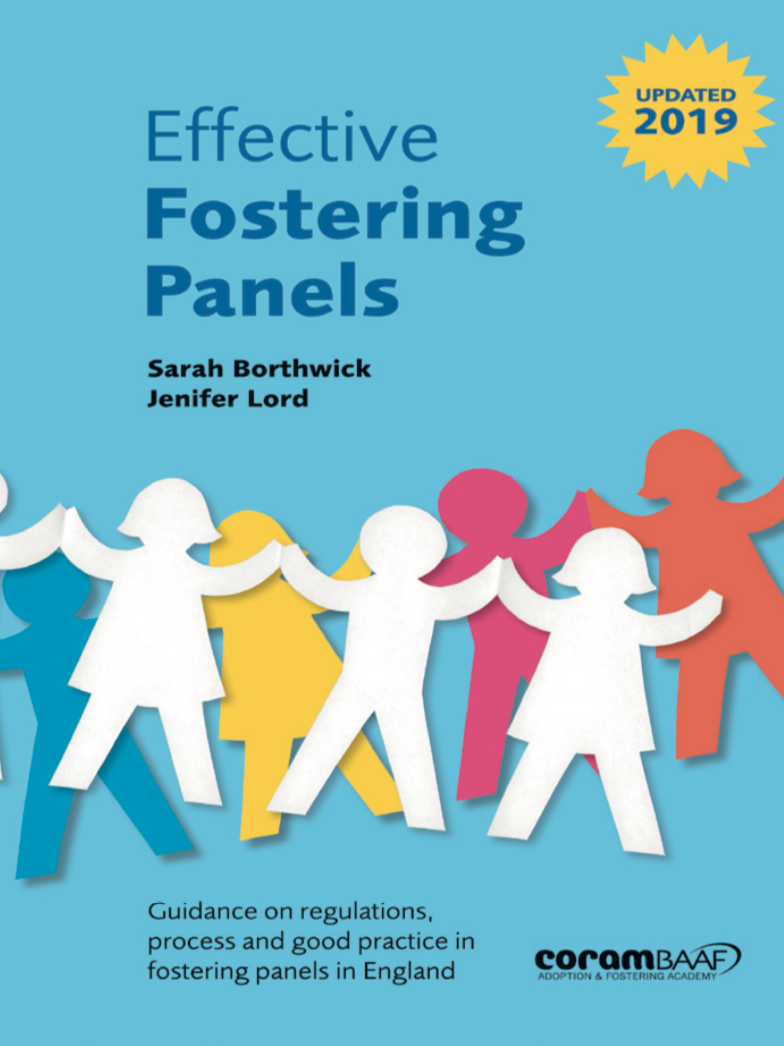 Effective Fostering Panels 2019 cover