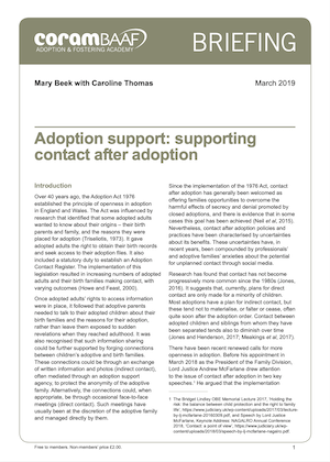 supporting contact after adoption cover