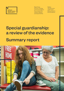 Special guardianship: a review of the evidence