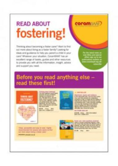 fostering cover