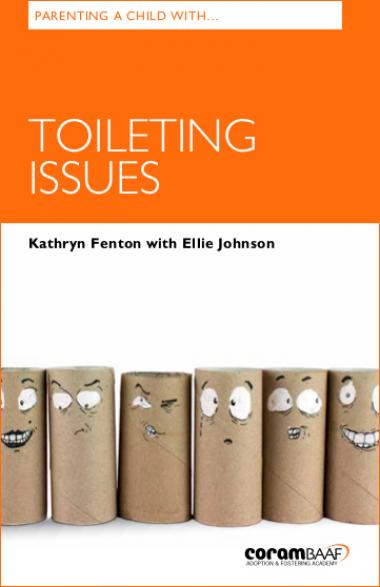 Parenting a child with toileting issues cover
