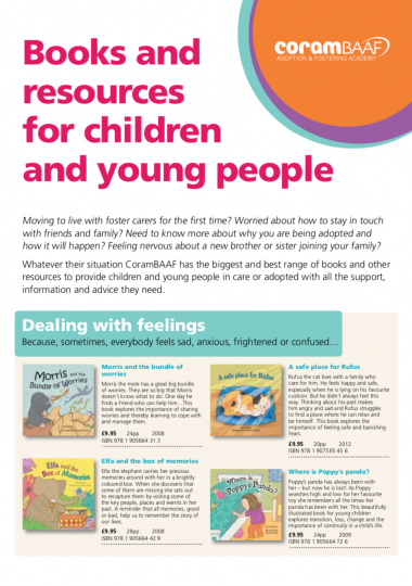 Children's and Young Peoples books catalogue cover