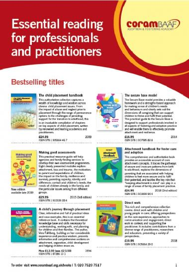 Catalogue for professionals and practitioners