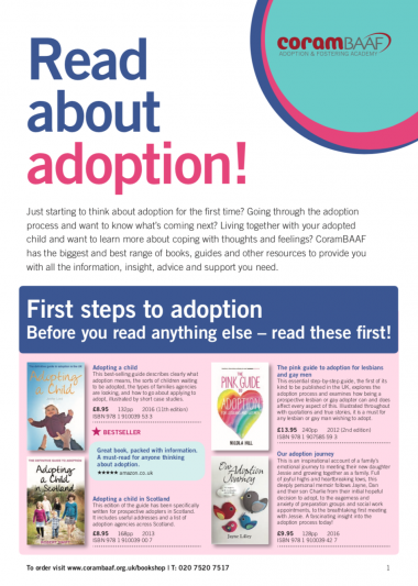 Read about adoption catalogue cover