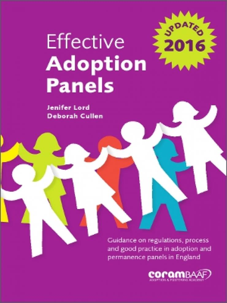 Effective adoption panels cover