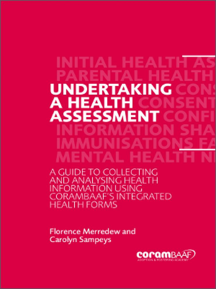Undertaking a health assessment cover
