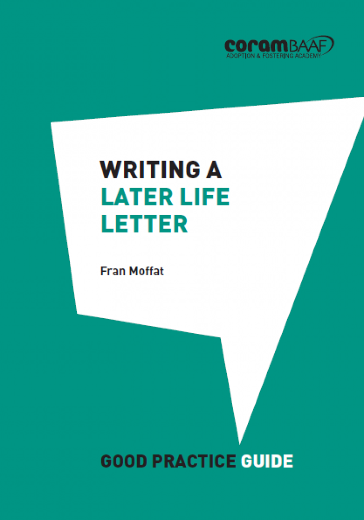 Writing a later life letter